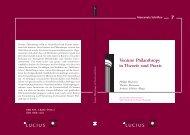 Venture Philanthropy in Theorie und Praxis - Social Investors Partners