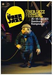 Programm (PDF) - ÜBERJAZZ Festival 2012