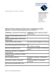 Teilnehmerliste - Studentenwerk Aachen