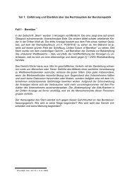 Teil 1: Einführung und Überblick über das Rechtssystem der ...