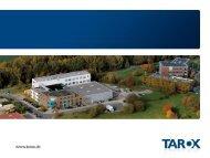 Stufe I: TAROX Partner Für PC-Systeme und Notebooks