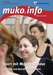 Sport mit Mukoviszidose Sport mit Mukoviszidose - Mukoviszidose e.V.
