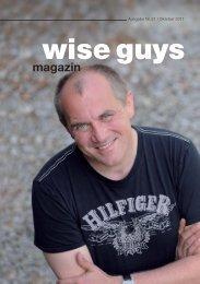 Das neue ALBUM ab 9.3.2012 - Wise Guys