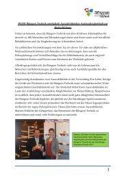 WfbM Büngern Technik ermöglicht Auszubildenden ...