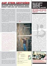 Bauzeitung 02/07 - Bethlehem Gesundheitszentrum