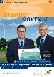 Ausgabe 01/09 Bad Rothenfelde - Stadtwerke Versmold