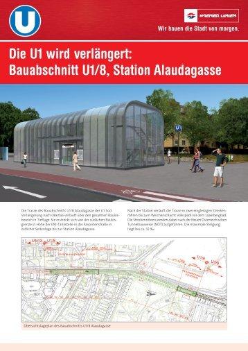 Die Bauweisen im Bauabschnitt U1/8 Alaudagasse - Ekazent ...