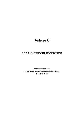 Modulhandbuch [PDF] - Bauingenieurwesen bis zum Master an der ...