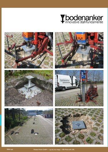 Bodenanker - Harrer GmbH