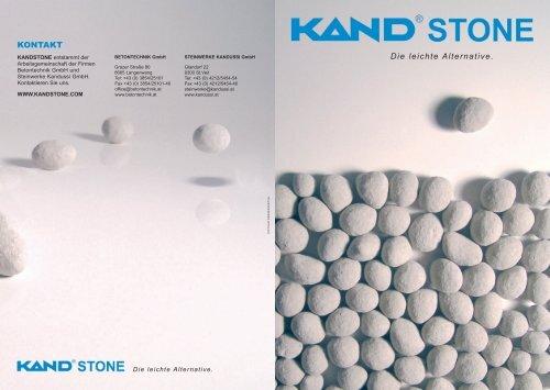 KANDSTONE - Betontechnik