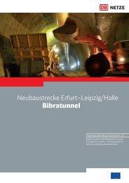 Bibratunnel Download pdf - Verkehrsprojekt der Deutschen Einheit 8