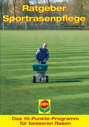 Ratgeber Sportrasenpflege - COMPO EXPERT