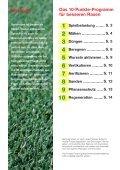 Ratgeber Sportrasenpflege - COMPO EXPERT - Seite 2