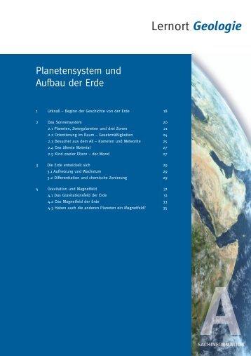 Lernort Geologie - Bayerisches Staatsministerium für Umwelt und ...