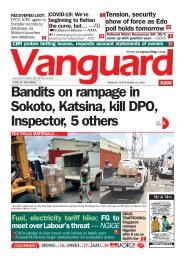 18092020 - Bandits on rampage in Sokoto, Katsina, kill DPO, Inspector, 5 others