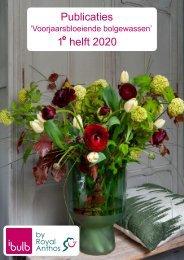 Publicaties Broei Voorjaar en TTE 1e helft 2020