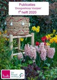 Publicaties Droogverkoop Voorjaar 1e helft 2020