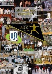 35 Jahre ASC Festschrift - Fechten an der USI und im ASC Wien