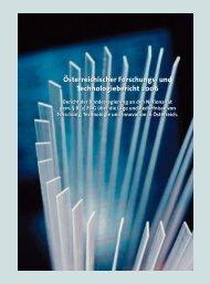 und Technologiebericht 2006 - Bundesministerium für Verkehr ...