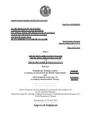 Schlumberger v. EMGS appeal judgement - MTNet