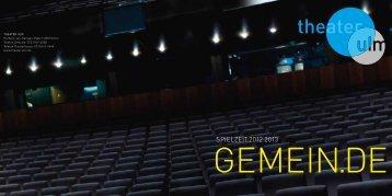 Einfach bequemer! - Theater Ulm
