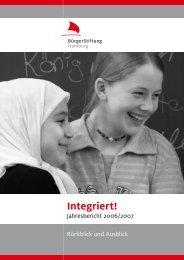 Jahresbericht 2006/07 - BürgerStiftung Hamburg