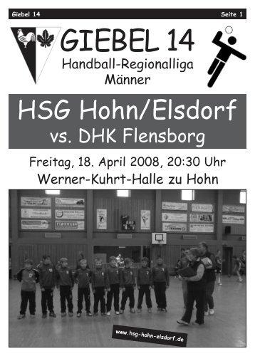 Giebel 14.qxd - HSG Hohn / Elsdorf