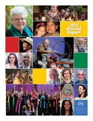 2012 Annual Report - Unitarian Universalist Association of ...
