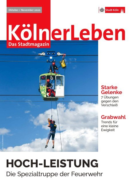 KölnerLeben Oktober/November 2020