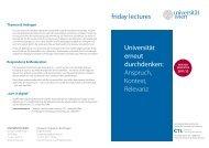 Folder - Center for Teaching and Learning - Universität Wien