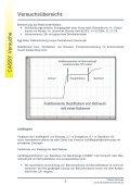 Versuchsübersicht - Fachreferent Chemie - Seite 2