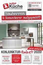 Konjunktur-Paket 2020 bei Meine Küche Hohenwarsleben
