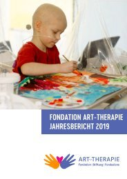 Jahresbericht 2019 - Fondation ART-THERAPIE