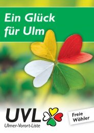 Freie Wähler - Ulmer Vorort-Liste