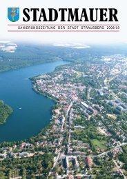 stadtmauer - Stadt Strausberg