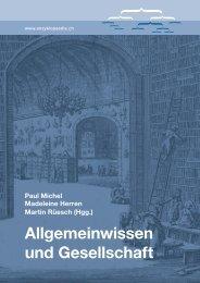 Paul Michel Madeleine Herren Martin Rüesch (Hgg.)
