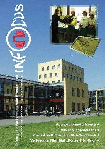 Hochschule - Fachhochschule Brandenburg