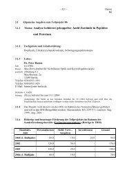 3.1.1 Thema: Analyse kohärent gekoppelter Amid Zustände in ...