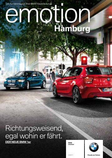 in Abstimmung - BMW Niederlassung Hamburg