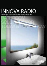 Tecnologia e Inovação no seu espaço de banho - Roca
