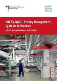 DIN EN 16001: Energy Management Systems in Practice - adelphi