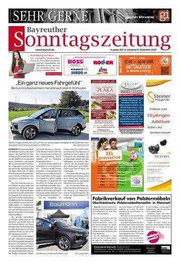 2020-09-20 Bayreuther Sonntagszeitung
