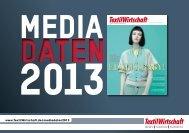 Mediadaten 2013 - TextilWirtschaft