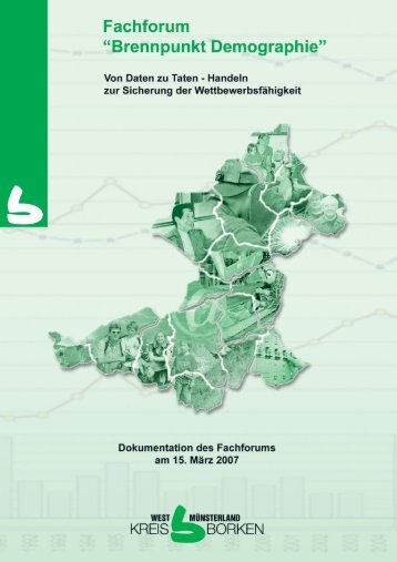 Regional abgestimmte Siedlungsflächenentwicklung ... - Kreis Borken