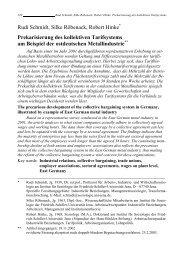 Rudi Schmidt, Silke Röbenack, Robert Hinke Prekarisierung des ...