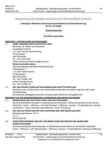 Vorinfo Netz 8 Ortenau-S-Bahn [PDF 85 - 3-Löwen-Takt