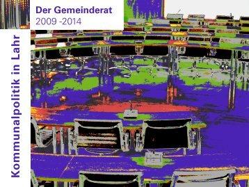 Gemeinderatsbroschüre (application/pdf) - Stadt Lahr