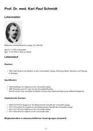 Prof. Dr. med. Karl Paul Schmidt Lebensdaten