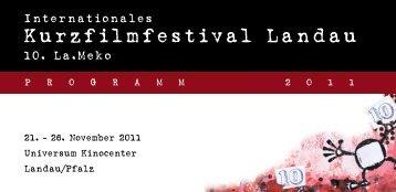 Kurzfilmfestival Landau - La.Meko