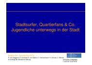Stadtsurfer, Quartierfans & Co. Š Jugendliche ... - SuSi - Team